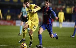 Pato en el partido frente al Barcelona