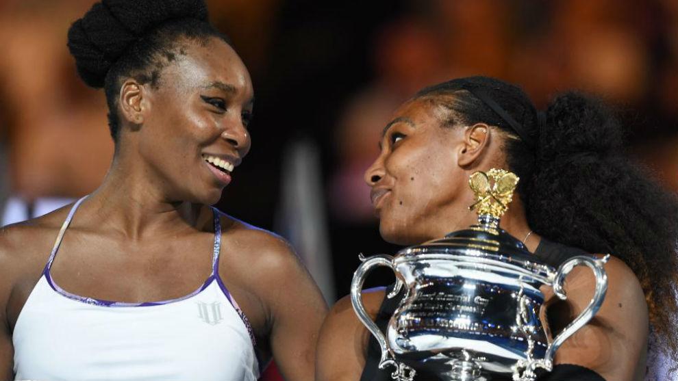 Venus y Serena, en la entrega de premios