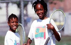 Serena y Venus, cuando eran niñas