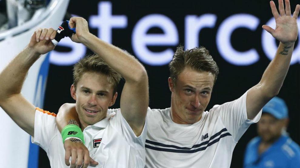 Peers y Kontinen celebran el título