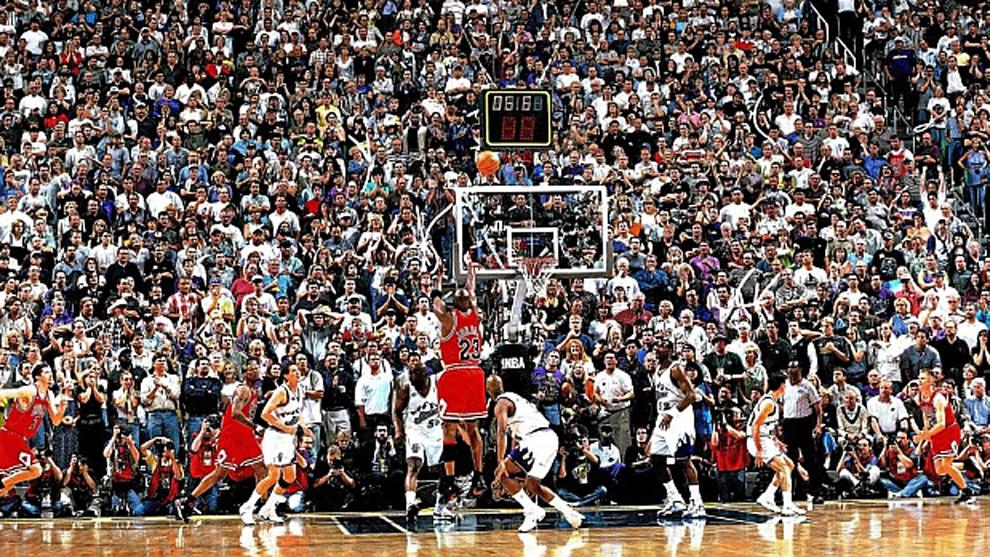 NBA: La canasta más famosa de Michael Jordan...¿declarada ilegal ...