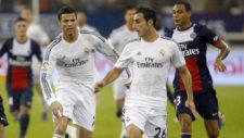 Jos� Rodr�guez, junto a Cristiano, en su etapa con el Real Madrid.