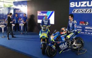 Presentaci�n del equipo Suzuki