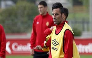 Juan Rodríguez, durante un entrenamiento reciente del cuadro...