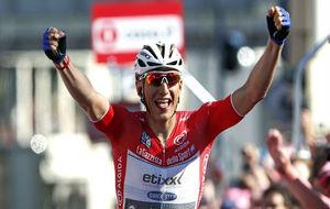 El alem�n Marcel Kittel festeja una etapa en el Giro