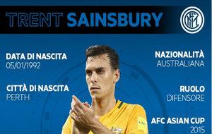 Sainsbury ya ha sido anunciado por el Inter