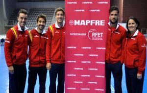 Roberto Bautista, Marc L�pez, Pablo Carre�o, Feliciano L�pez y...