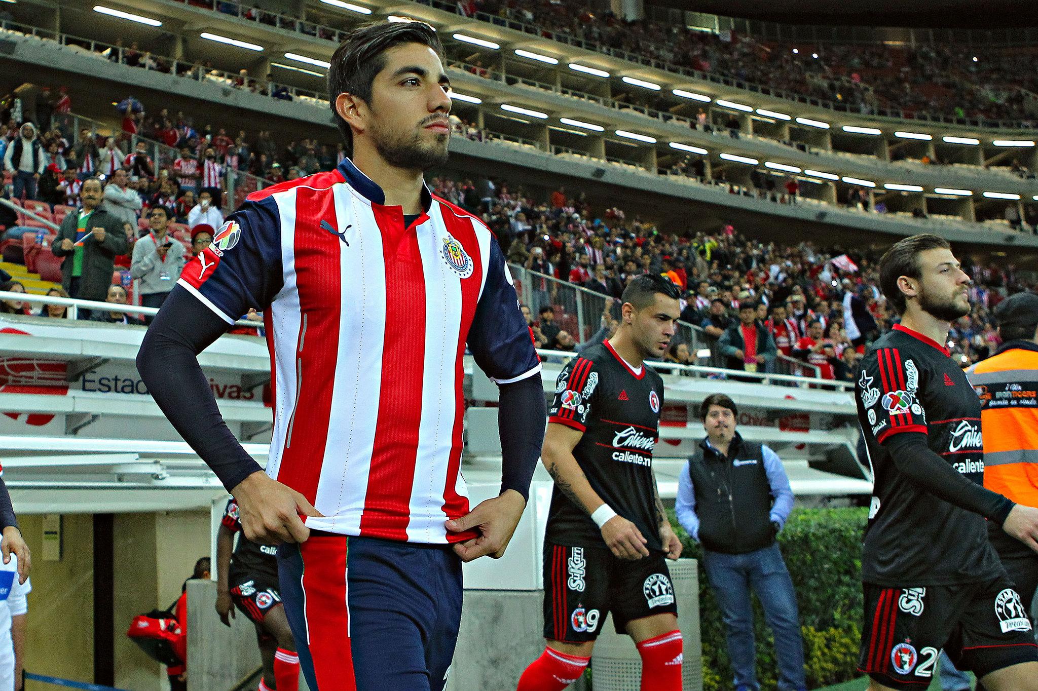Rodolfo Pizarro no estuvo en la premier de la película, Chivas