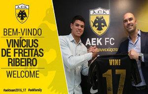 Vinicius ya ha sido presentado