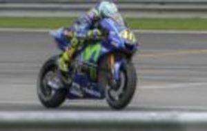 Rossi, en Sepang.