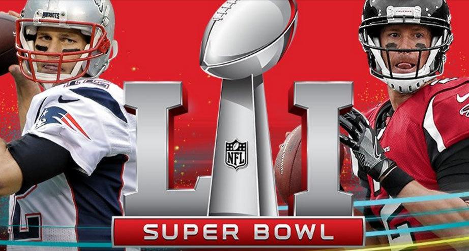 Tom Brady y Matt Ryan lideran a sus equipos en la lucha por el Super...