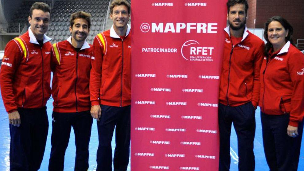 El equipo español de Copa Davis