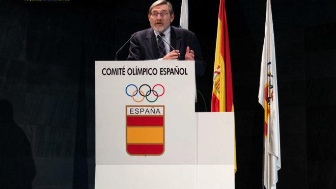 Jaime Lissavetzky, en su presentación como nuevo Presidente de la...