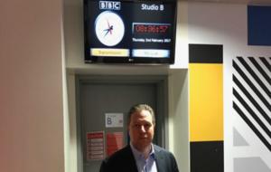 Zac Brown, en la BBC.