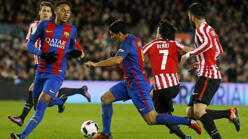 Barça y Athletic se enfrentan en el partido de Copa del Rey de esta...