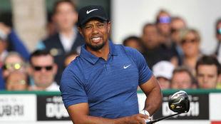 Tiger Woods, en la primera jornada del Abierto de Phoenix.