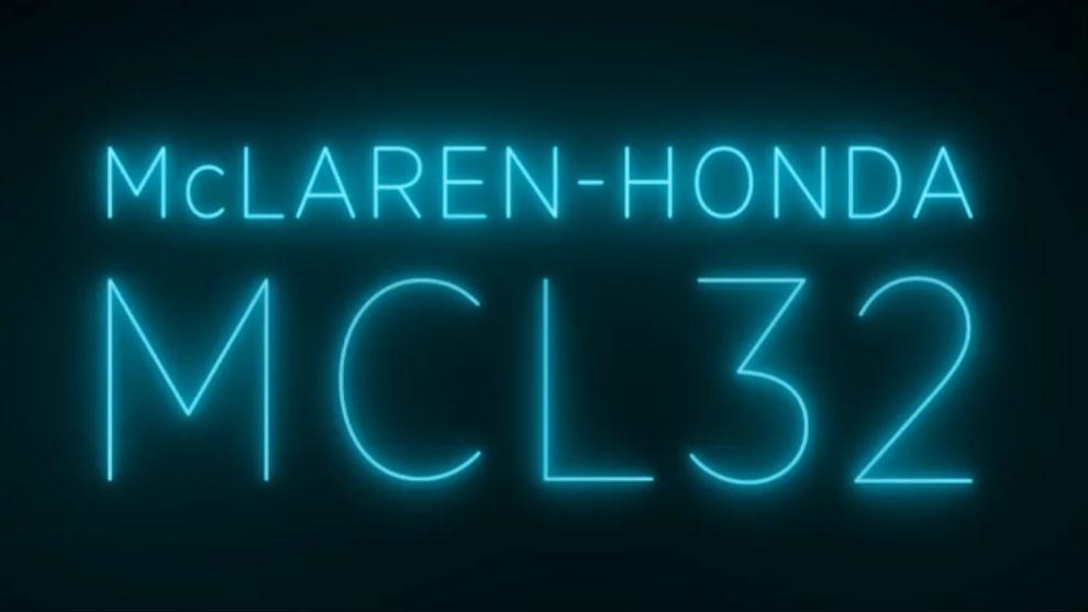 El nuevo nombre del McLaren: MCL32