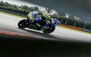 Valentino Rossi, en Sepang.