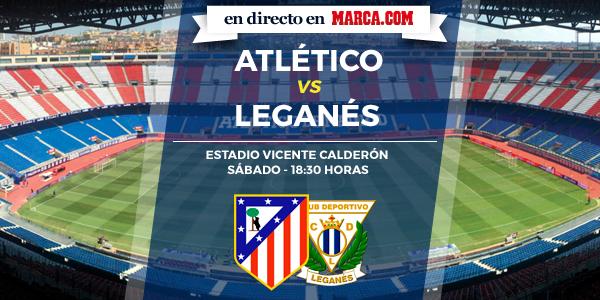 Atlético de Madrid vs Leganés en directo