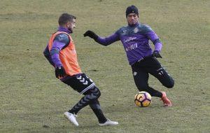 Imagen de Sergio Marcos y Raúl de Tomás en un entrenamiento.