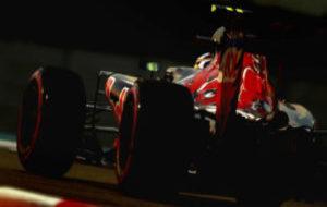 Carlos Sainz, durante la �ltima carrera de la pasada temporada