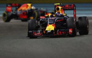 Max Verstappen, durante la �ltima carrera de Abu Dabi