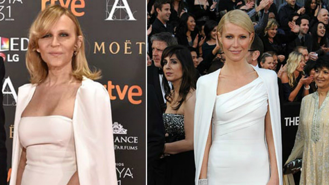 Antonia San Juan y Gwyneth Paltrow