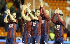 El Eibar logró su mejor registro de puntos Fantasy en LaLiga...