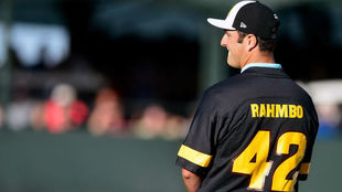 Rahm, en el hoyo 16 del Phoenix Open.