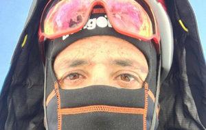 Álex Txikon en el Everest.