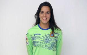 Miriam De Francisco, portera del Espanyol.