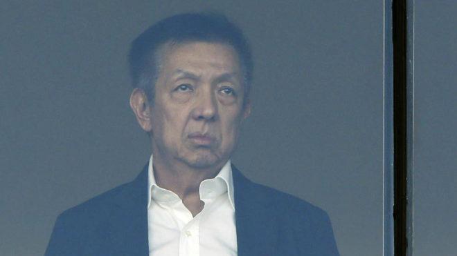 Peter Lim, en el Estadio de los Juegos del Mediterráneo de Almería
