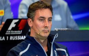 James Key, director t�cnico del equipo Toro Rosso