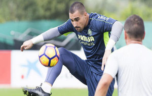 Sergio Asenjo en un entrenamiento del Villarreal.
