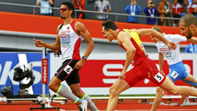 Yasmani Copelli, turco de origen cubano, campeón de Europa de 400 v...