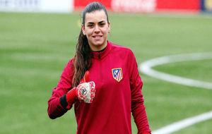 María Isabel Rodríguez durante un entrenamiento en el Cerro del...