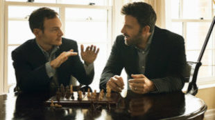 Chris Terrio y Ben Affleck