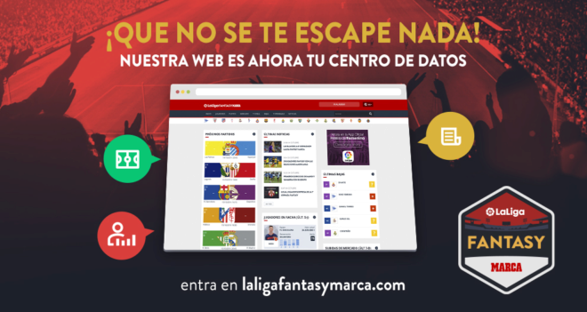 El nuevo portal de LaLiga Fantasy MARCA es una completa guía de...