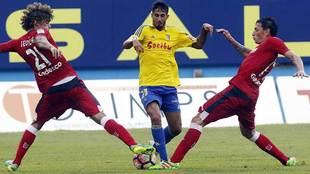 El Cádiz goleó al Getafe en el partido de la primera vuelta: 3-0 en...