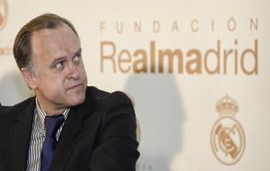 Miguel Pardeza, durante su etapa como dirigente del Real Madrid