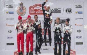 El podio de MonteCarlo.