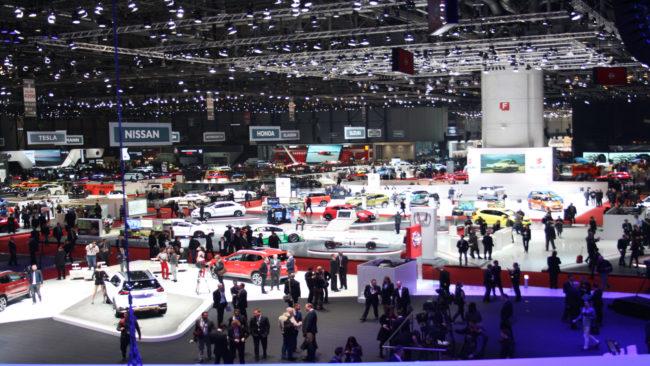 Visión general del Salón del Automóvil de Ginebra