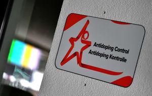Estancia donde se realizan los controles antidopaje en Hochfilzen.