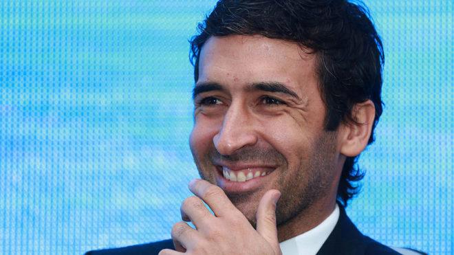 Raul González, en el evento para anunciar que LaLiga tendrá...