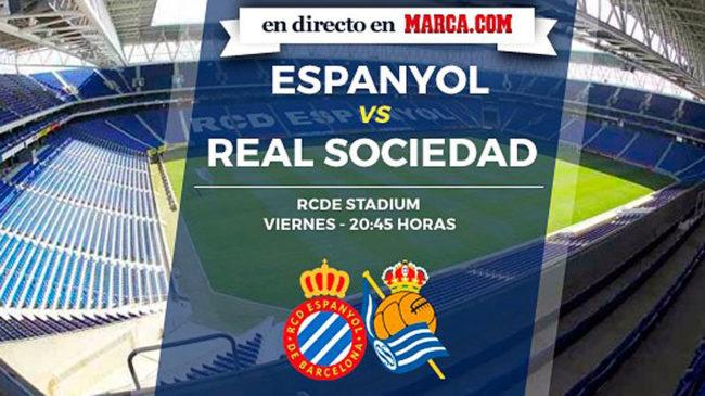 Espanyol vs Real Sociedad en directo