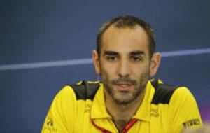 Cyril Abiteboul, director del equipo Renault, en el pasado GP de EEUU.