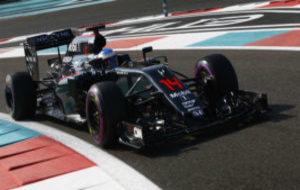 Fernando Alonso en el �ltimo GP de Abu Dabi