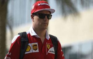 Kimi Raikkonen, piloto de Ferrari