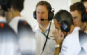 Zak Brown, director ejecutivo de la escuder�a McLaren