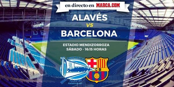 Alavés vs Barcelona en directo